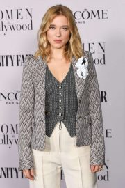 Lea Seydoux - Vanity Fair and Lancome Women In Hollywood Celebration in West Hollywood