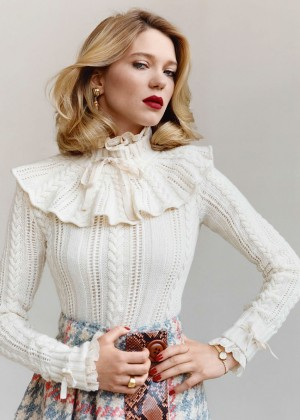 Lea Seydoux - Vanity Fair France Magazine (September 2015)