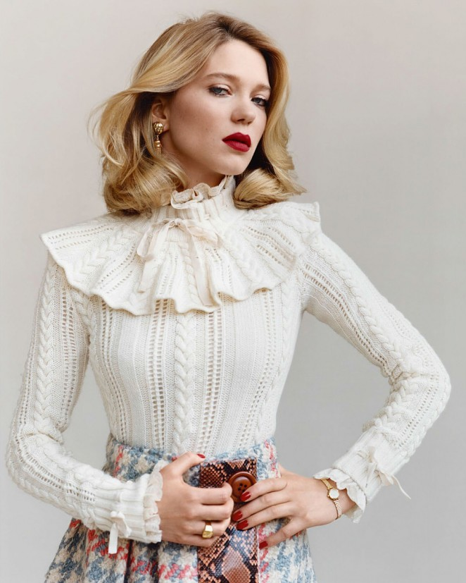 Lea Seydoux – Vanity Fair France Magazine (September 2015)