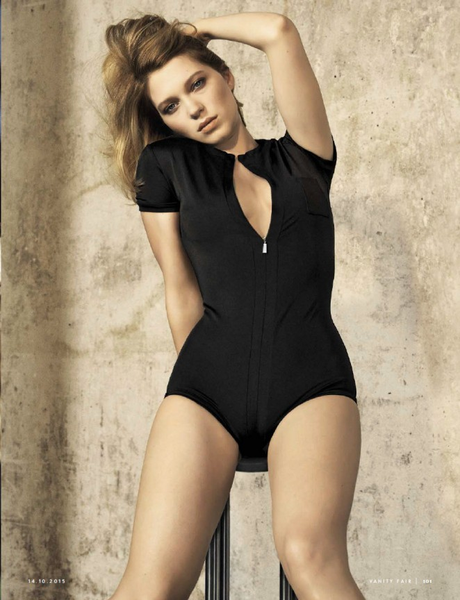 Lea Seydoux - Vanity Fair Italy Magazine (October 2015)