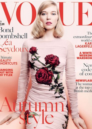 Lea Seydoux - Vogue UK Cover (November 2015)