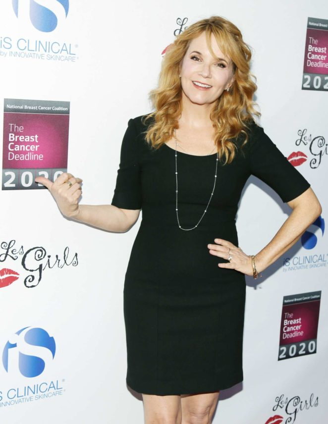 Lea Thompson - 17th Annual Les Girls Cabaret in Los Angeles