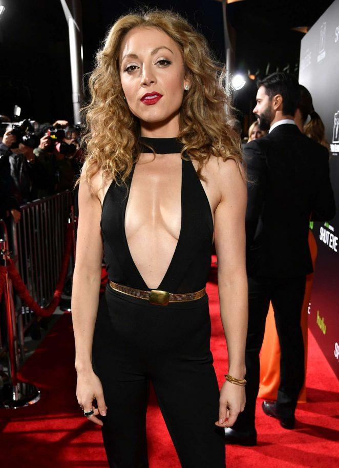 Leah Gibson - 'Shut Eye' TV series Premiere in Los Angeles