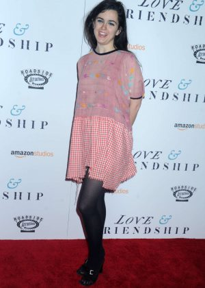 Leah Hennessey - 'Love and Friendship' Screening in New York City