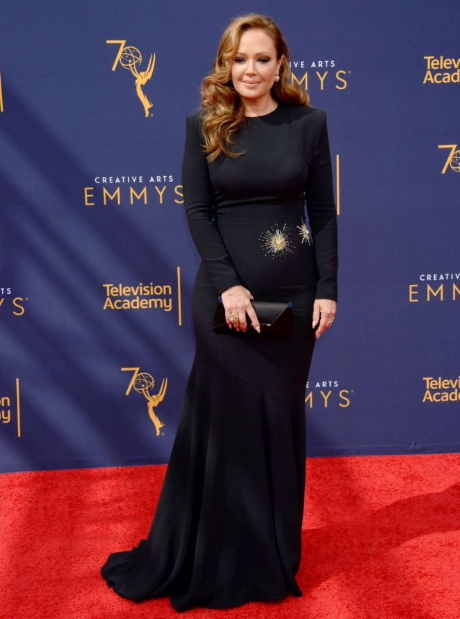 Leah Remini – 70th Primetime Creative Arts Emmy Awards in Los Angeles