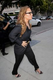 Leah Remini - Arrives for the Chelsea Handler Tour Sit-Down Comedy Tour Show in LA