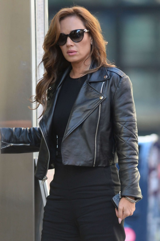 Leah Remini out in NYC