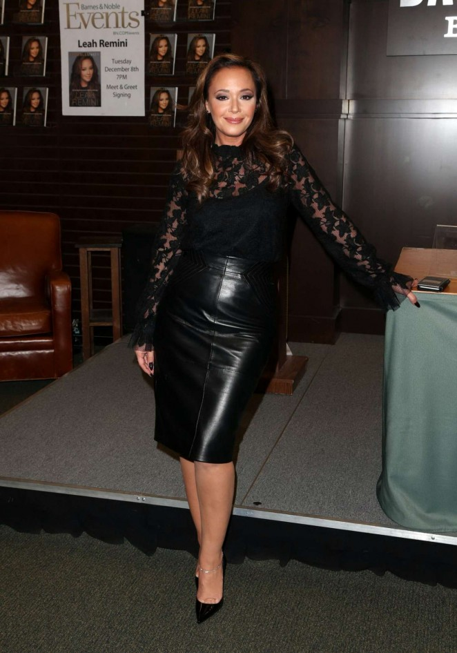 Leah Remini: Troublemaker Surviving Hollywood and Scientology Book Signing -03