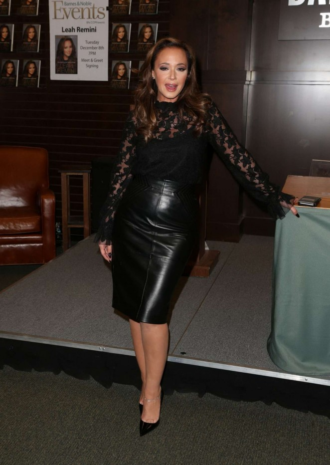Leah Remini: Troublemaker Surviving Hollywood and Scientology Book Signing -06
