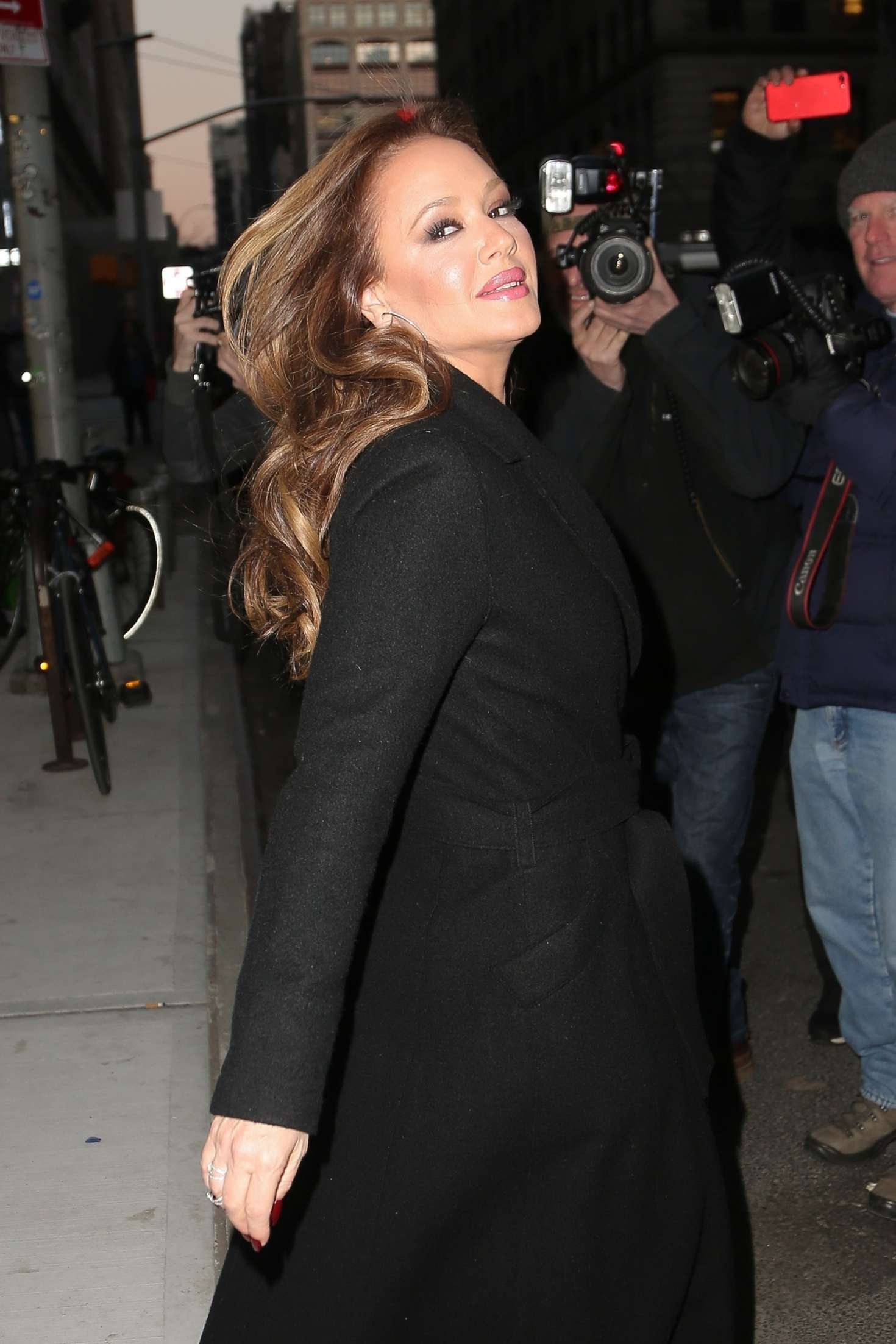 Leah Remini - Visits 'Watch What Happens Live with Andy Cohen' in NY
