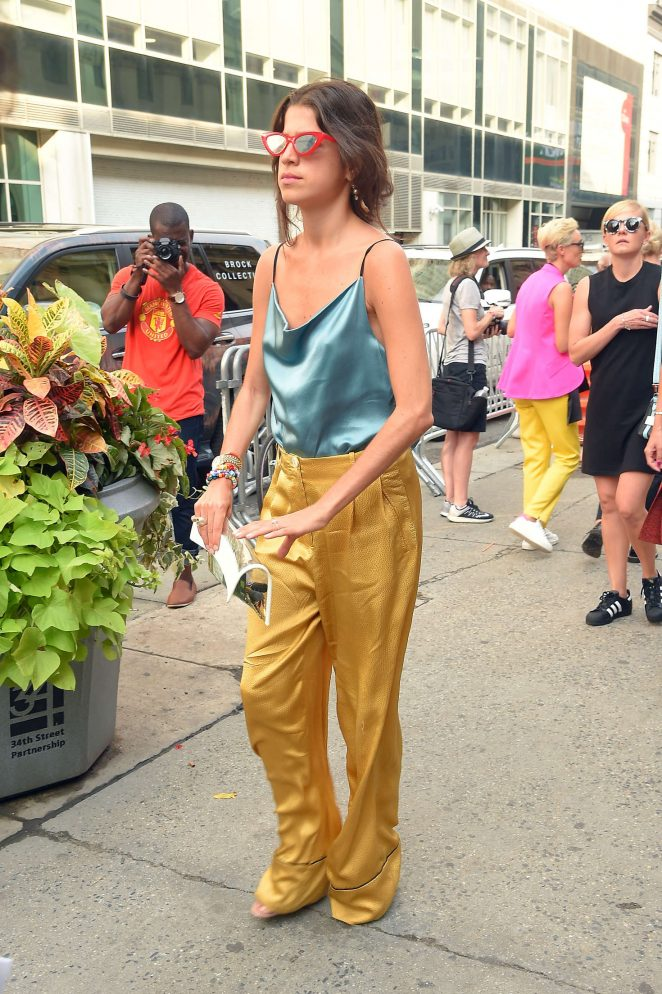 Leandra Medine out in Manhattan