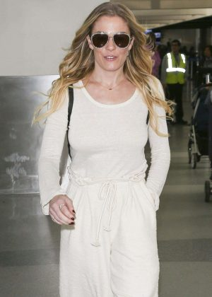 LeAnn Rimes at LAX International Airport in LA
