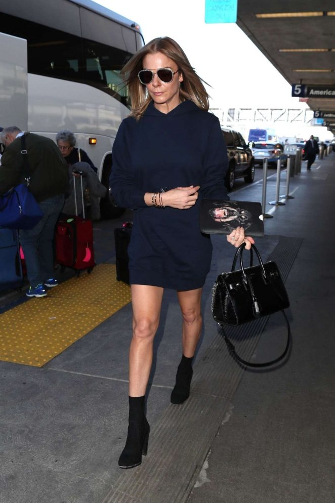 LeAnn Rimes at LAX International Airport in Los Angeles