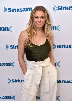 LeAnn Rimes at SiriusXM Studios in NYC