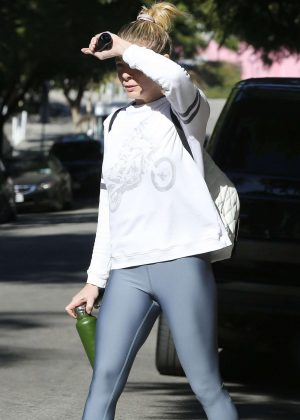 LeAnn Rimes in Tights - Out in West Hollywood