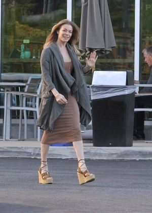 LeAnn Rimes Shopping in Malibu
