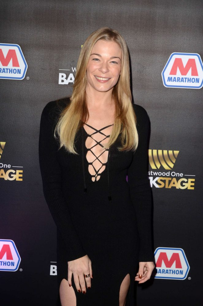 LeAnn Rimes - Westwood One Backstage at the Grammys in Los Angeles