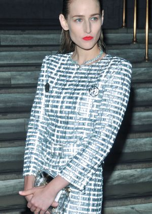 Leelee Sobieski - Chanel Fine Jewelry Dinner in New York City