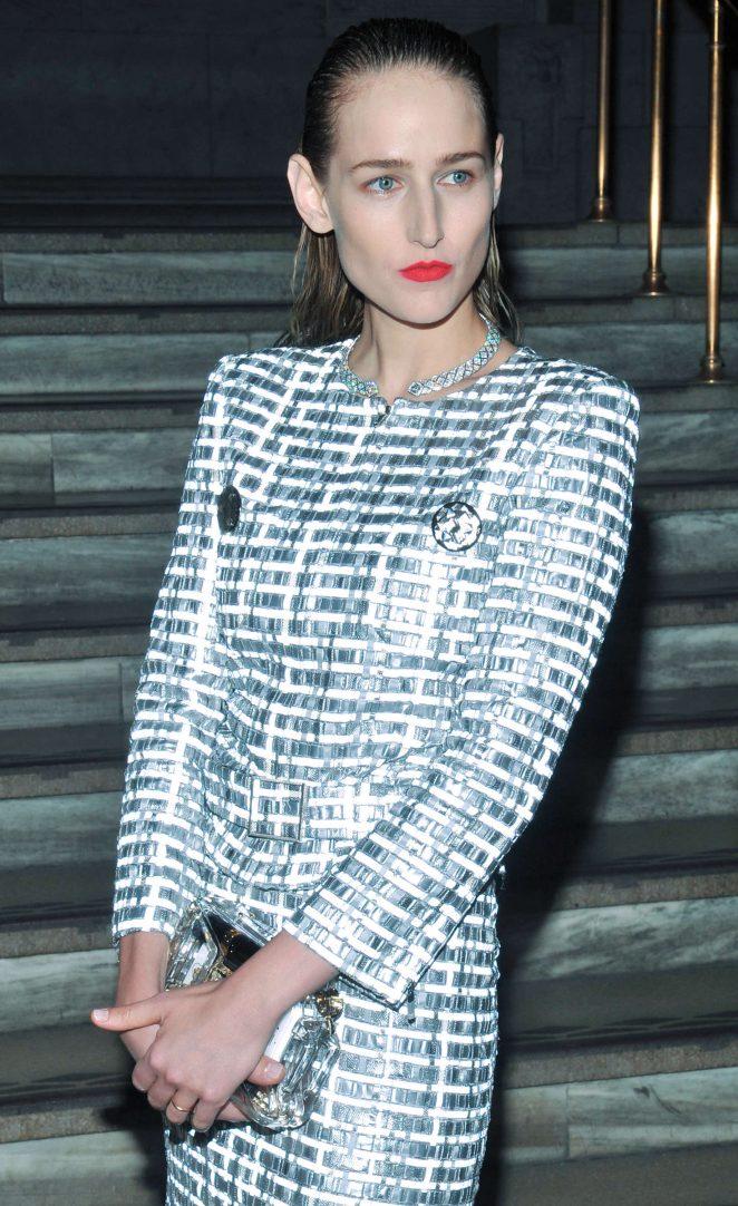 Leelee Sobieski - Chanel Fine Jewelry Dinner in New York City