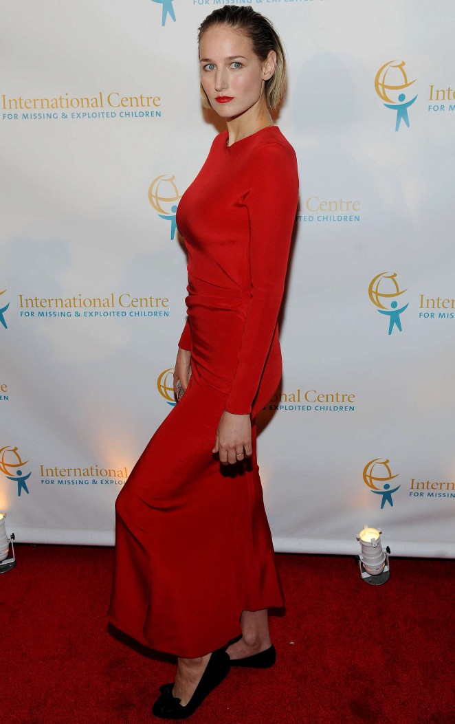Leelee Sobieski - International Centre For Missing And Exploited Children's Inaugural Gala in NYC