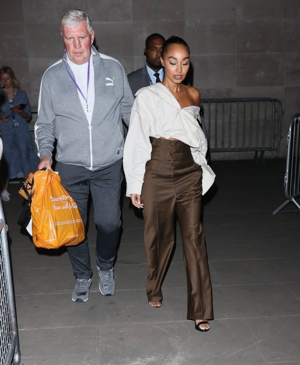 Leigh-Anne Pinnock and Perrie Edwards - Appearance on The One Show in London