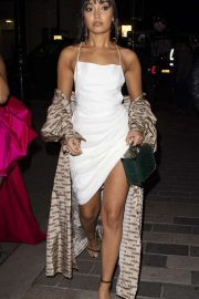 Leigh-Anne Pinnock - Arriving at a club in London