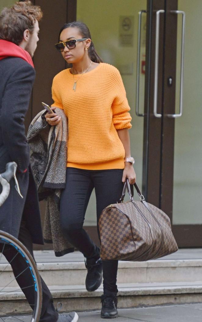 Leigh-Anne Pinnock ast Sony Office in London