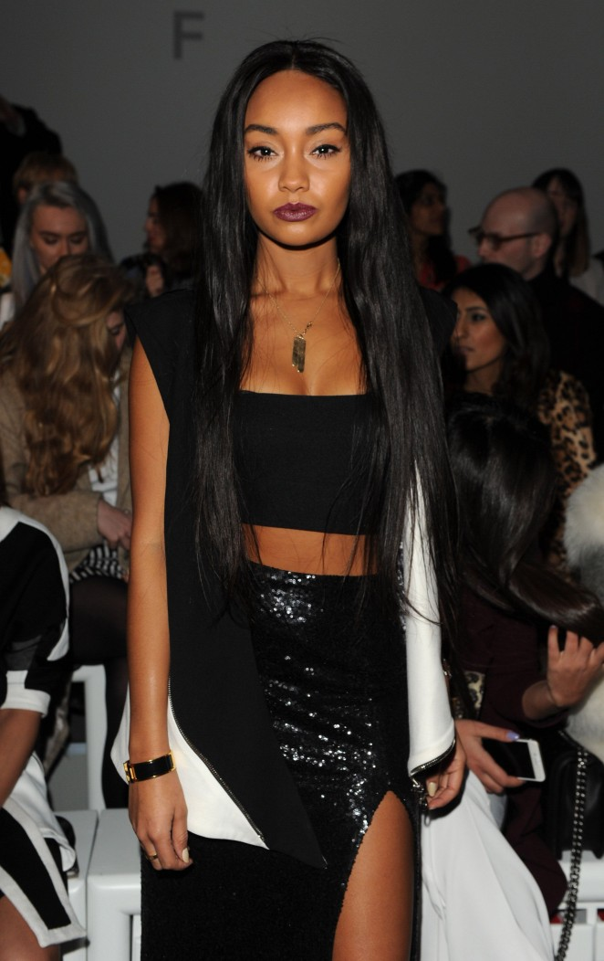 Leigh-Anne Pinnock - Jean-Pierre Braganza Fashion Show 2015 in London