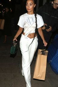 Leigh-Anne Pinnock - Leaving #OwnTheTable Event in London