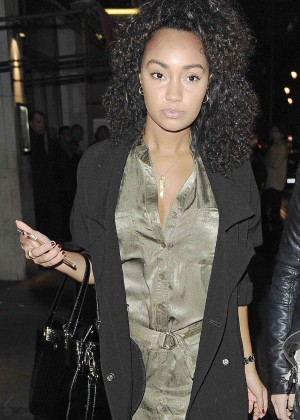 Leigh-Anne Pinnock Night Out in London