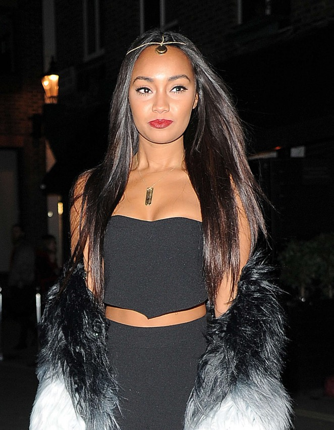 Leigh-Anne Pinnock - Oh My Love Pre London Fashion Week Party in London