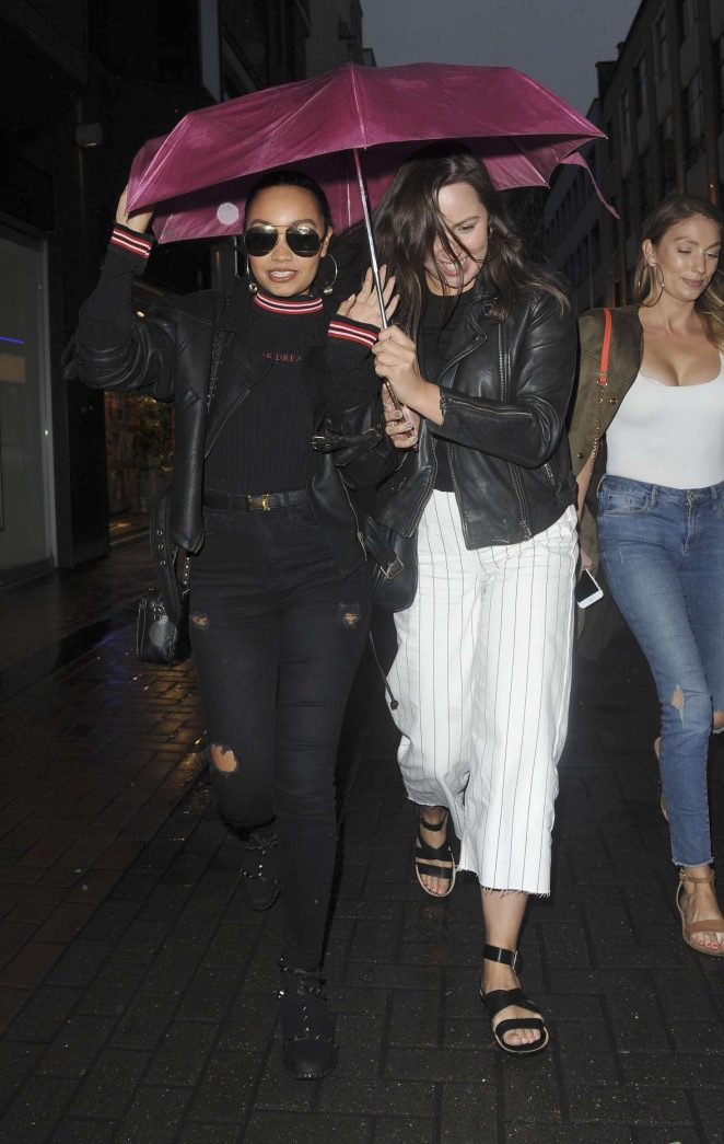 Leigh-Anne Pinnock - Out and about in London