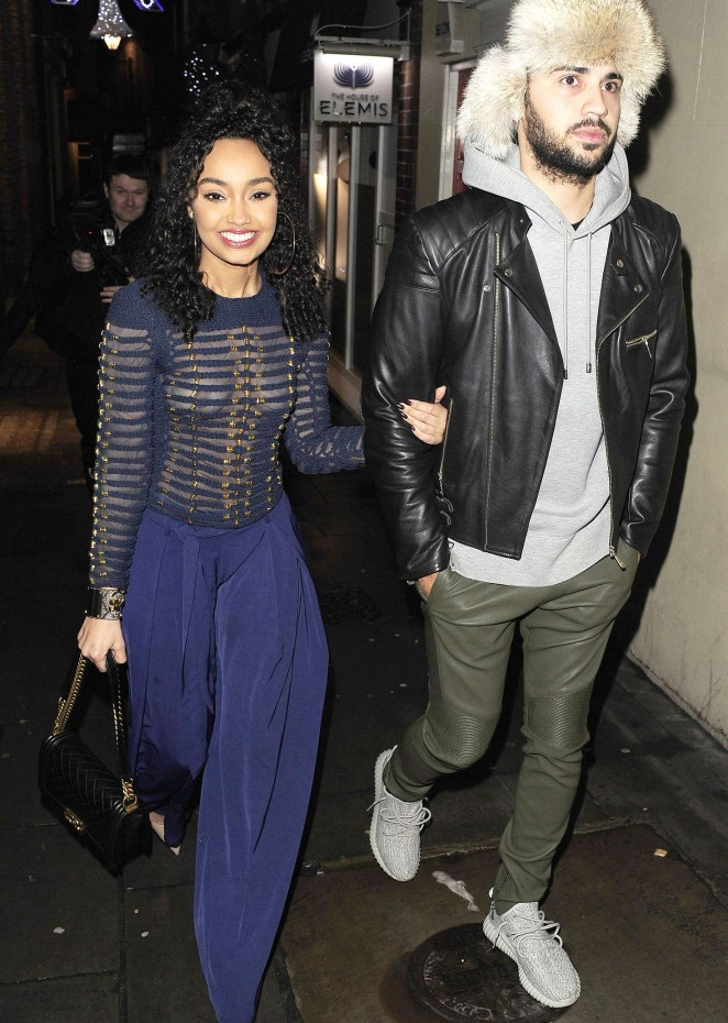 Leigh-Anne Pinnock Out in London