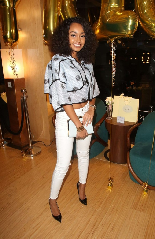 Leigh-Anne Pinnock - The 'Fancy Kids' Launch Party in Mayfair