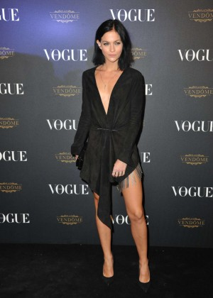 Leigh Lezark - Vogue 95th Anniversary Party in Paris
