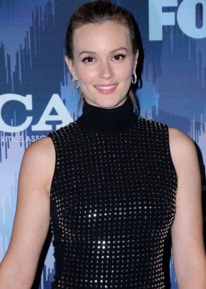 Leighton Meester - 2017 FOX Winter TCA All Star Party in Pasadena