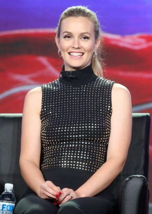 Leighton Meester - 2017 Winter TCA Tour in Pasadena