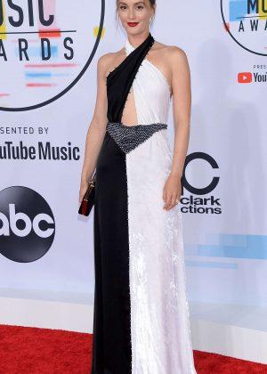 Leighton Meester - 2018 American Music Awards in Los Angeles