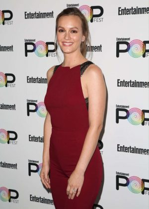 Leighton Meester - Entertainment Weekly PopFest in Los Angeles
