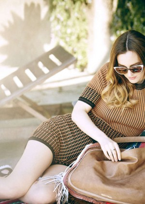 Leighton Meester - Jimmy Choo SS 2015 Collection