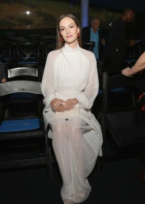 Leighton Meester - Naersi fashion show at New York Fashion Week