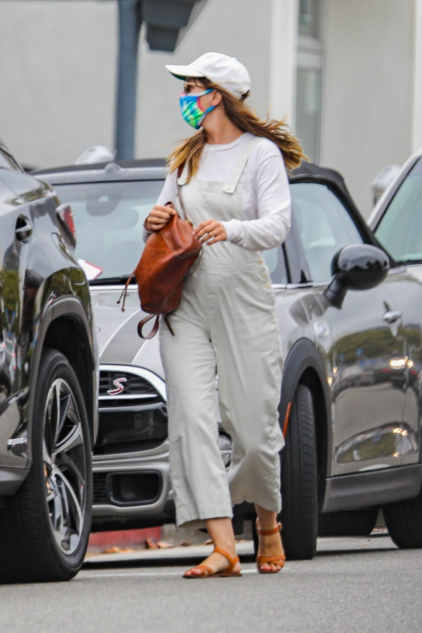 Leighton Meester - Out with a friend in Pacific Palisades