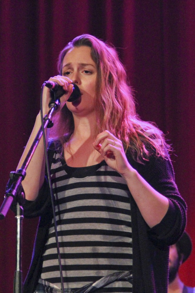 Leighton Meester - Performs at Rio Theatre On Broadway in Vancouver