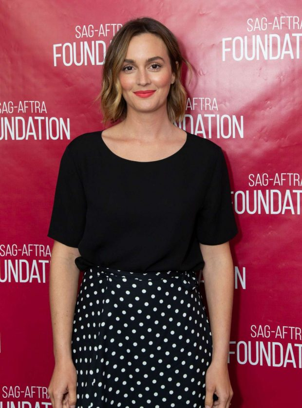 Leighton Meester - SAG-AFTRA Foundation Conversations with 'Single Parents' in LA