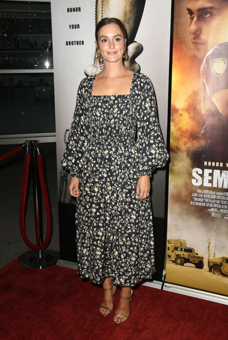 Leighton Meester - 'Semper Fi' Screening in Hollywood