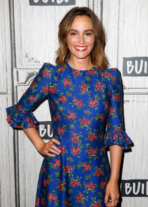 Leighton Meester - Visit AOL Build Series in NYC