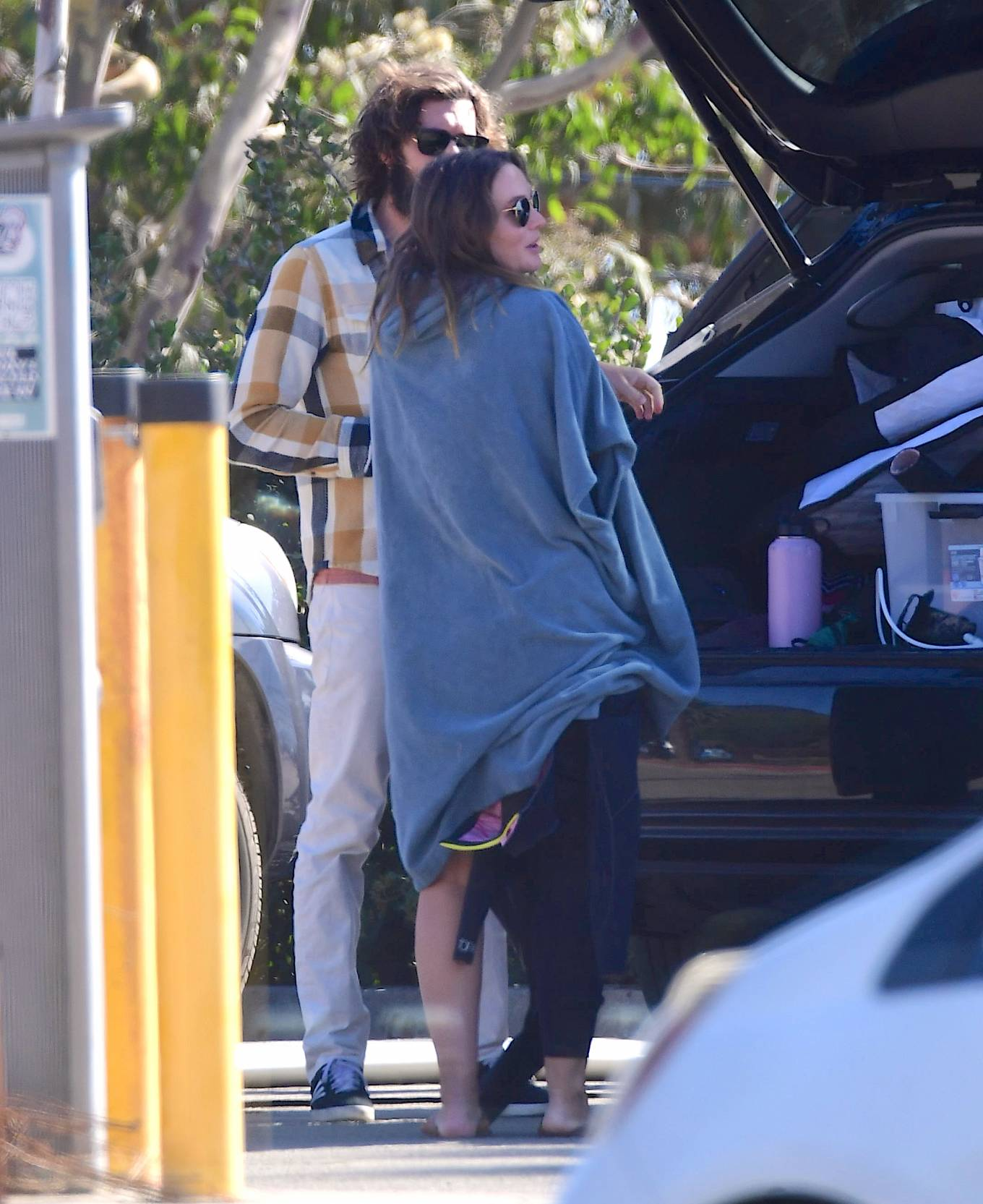 Leighton Meester 2020 : Leighton Meester with Adam Brody – Surfing session in New York-07
