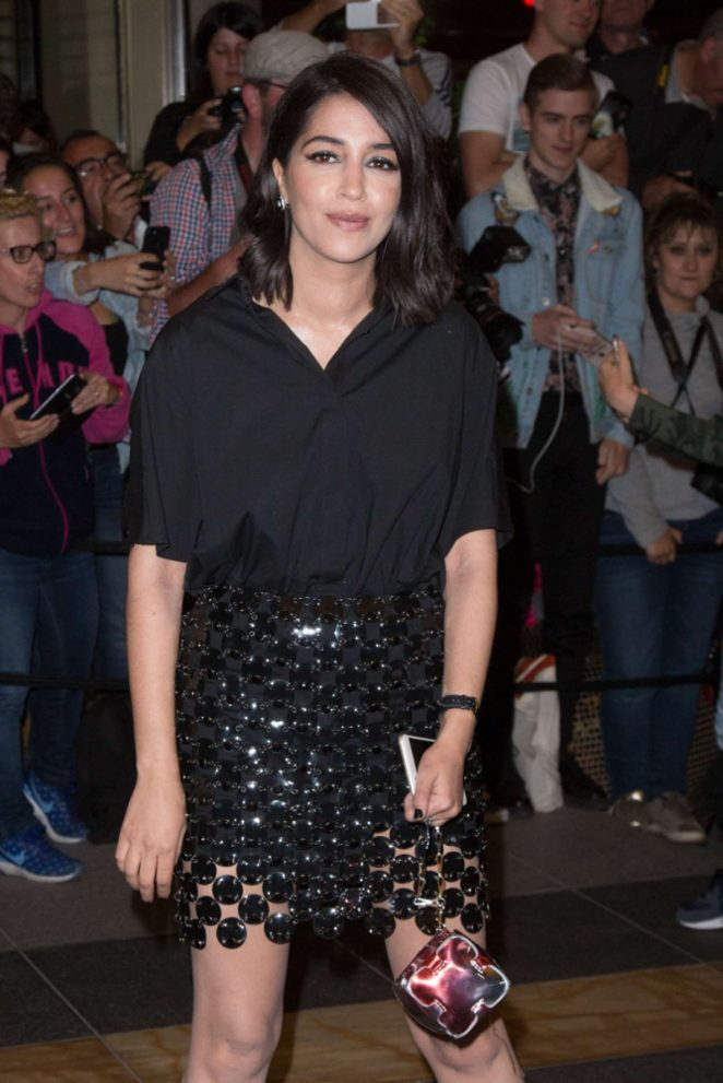 Leila Bekhti - Arriving for the Dior Dinner in Cannes