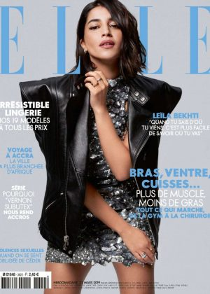 Leila Bekhti for Elle France Magazine (March 2019)