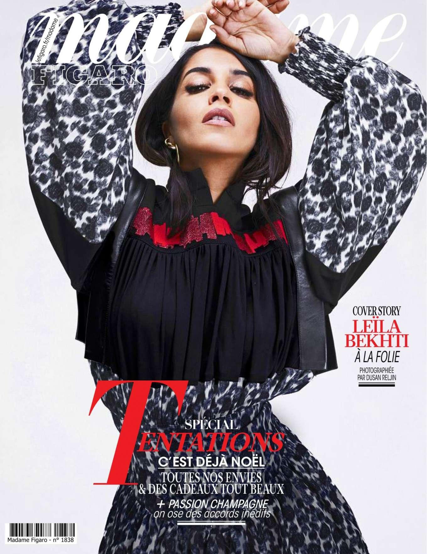 Leïla Bekhti 2019 : Leila Bekhti – Madame Figaro 2019-08